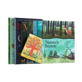 ♬【组合搭配】(2本/套)Hidden World Set--隐藏的世界系列套装、(4本/套)《Nature's Secrets》大自然的秘密系列