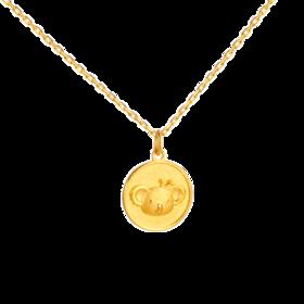 考拉Q萌家族系列3D硬金项链