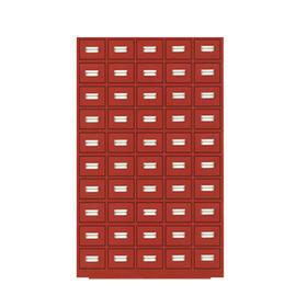花都钢制中药柜 不锈钢中药柜可定制  亚光白 仿古红