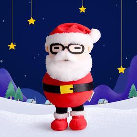 凯叔圣诞形象 毛绒玩偶