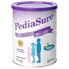 澳洲进口雅培小安素奶粉PediaSure儿童1-10岁成长奶粉香草味