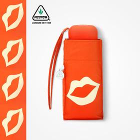 英国富尔顿黑胶防晒伞防紫外线口袋伞