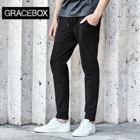 Gracebox FRIAR 修道士针织休闲裤 帅气舒适有型