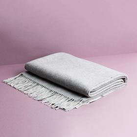 纳谷 | Peace 大方黑白格纹羊毛盖毯