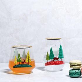 纳谷 | Love 真爱至上圣诞印花无铅玻璃杯