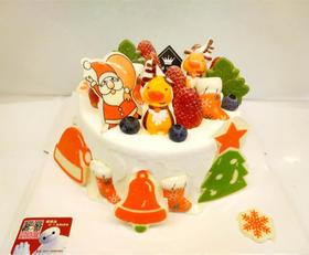 4寸专属圣诞定制蛋糕加大6寸8寸
