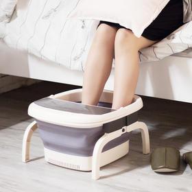 可折叠恒温足浴盆 自动加热恒温泡脚,模拟中医按摩,助眠驱寒,除菌干净卫生