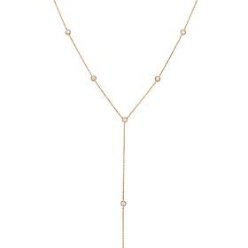 INCH Edition Y形钻石项链