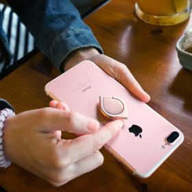 【Youtue爆款】Ring SPinner  万能防摔指环手机支架  360°旋转  创意减压神器
