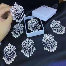 众神的狂欢925银镶珍珠款胸针