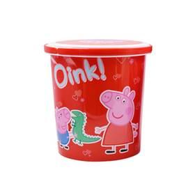 [超值特价]小猪佩奇快乐家族桶装曲奇礼盒  500g