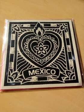 Sobre y tarjeta Méxica