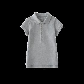 女童短袖polo衫