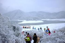 1.27-28冬季吴越古道:走千年古道,看壮美天池,寻皑皑白雪(2天)