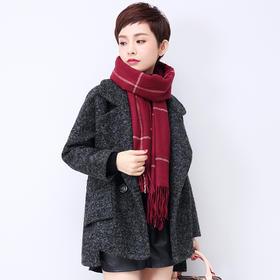 小个子毛呢外套女短款冬装宽松斗篷茧型韩版羊毛呢子大衣秋冬外套