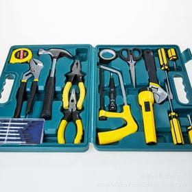 22件五金工具箱 家用工具组套 组合工具 礼品组套 维修工具套装