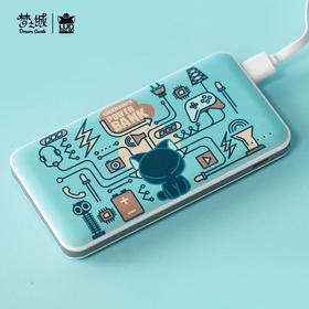 【安卓苹果双快充】罗小黑新款移动电源容量8000毫安