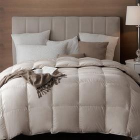 五星级酒店羽绒被90%白鹅绒加厚冬被子单人双人全棉被芯春秋