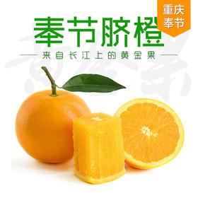 重庆奉节脐橙  果径75mm左右(8斤装/5斤装/4斤装/9和15个礼盒装) 一口爆汁细腻化渣 果园现摘现发 不打腊