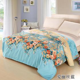纯棉100%全棉印花被套160x210cm