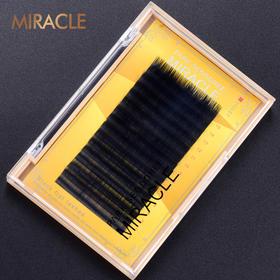 韩国MIRACLE 0.15mm粗度 黑貂绒扁毛柔软舒适浓密
