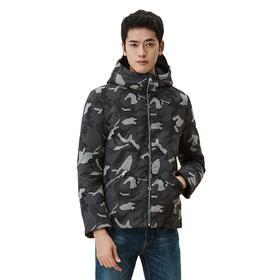 男式迷彩短款厚羽绒 2色可选 虎斑迷彩 温暖厚实的暖意佼佼者