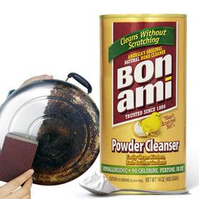 【油污不见了!天然零腐蚀】美国进口宝纳咪去污粉  天然有机成分  轻松清理厨卫油污 污渍