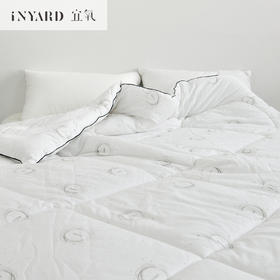 [InYard宜氧]裸睡安眠被/抗菌防螨棉/加厚秋冬被子保暖/双人被褥