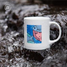 星座马克杯     属于双鱼座的杯子