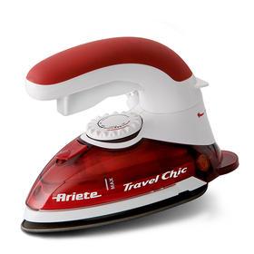 阿里亚特(Ariete) 意大利电熨斗6224 家用蒸汽熨衣 3档800w 特氟龙底板 红色
