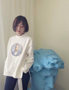 徳玺见萩《至爱梵高》电影 自画像特别版卫衣