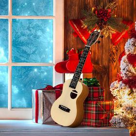 Populele U1 (礼包款 )智能尤克里里乌克丽丽23寸智能小吉他饼干款ukulele 庞大曲库 APP 节奏大师游戏