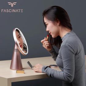 【妆镜新高度】化妆镜+台灯+蓝牙音箱 三合一化妆镜台灯  智能调灯