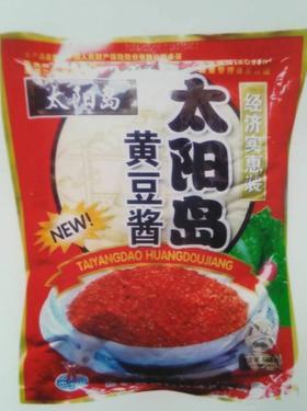 A太阳岛大酱500g(一箱30袋)