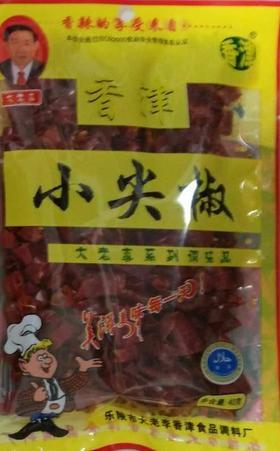 A大老李 小尖椒调味料40g(一袋)(一箱70袋)