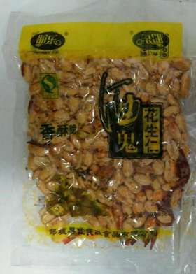 A朋乐  酒鬼花生(辣)300g(一袋)(一箱40袋)