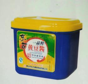 A东古 黄豆酱(盒)750g(一箱12盒)