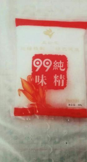 A蓝铃花99纯味精400g(一箱25袋)