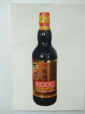 A东古 红烧酱油500Ml(一箱12瓶)