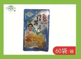 A备得福榨菜片(一袋)80g*60袋