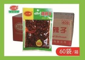 A川南-100g油辣子(一袋)(一箱60袋)