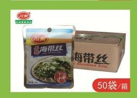 A川南-53g- 麻辣海带丝(一袋)(一箱50袋)