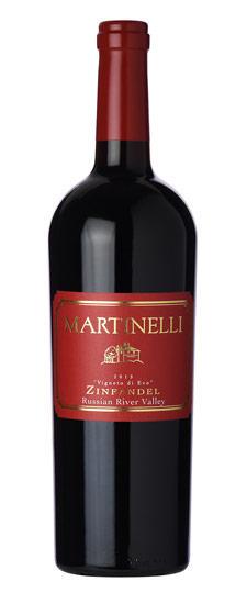 马蒂南酒庄维纳托仙粉黛干红葡萄酒2012/Martinelli Zinfandel Vigneto di Evo 2012
