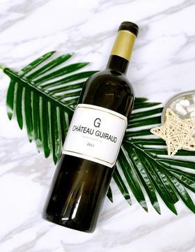 【闪购】芝路古堡干白葡萄酒2013/G de Guiraud 2013