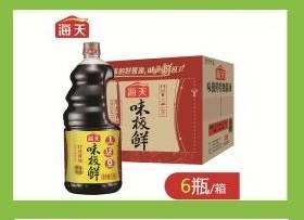 A海天味极鲜酱油(一桶)1.9L一箱6桶