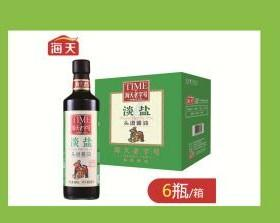 A海天老字号淡盐酱油-480ml(一瓶)(一件6瓶)