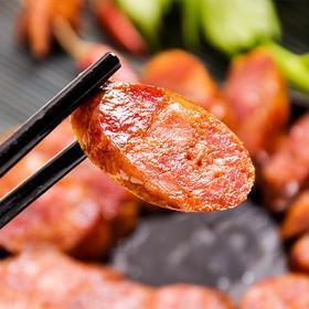 【腊味农夫】恩施土家传统柴火烟熏土猪腊肠500g