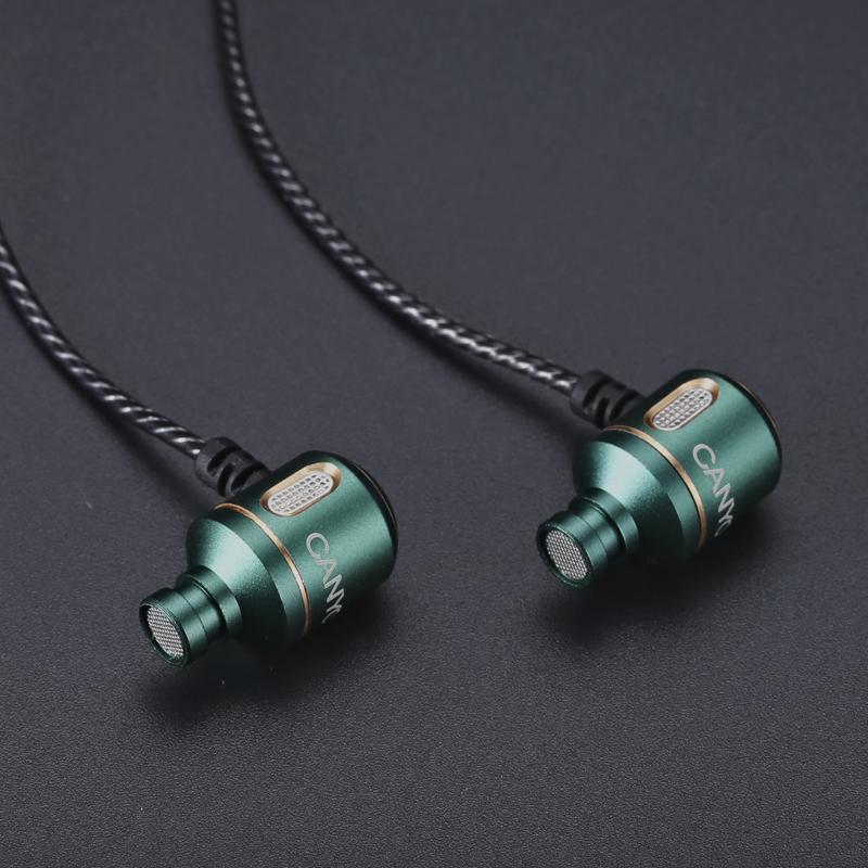 德行CANYON发烧HIFI入耳式超重低音耳机 DIY线控带麦【D】