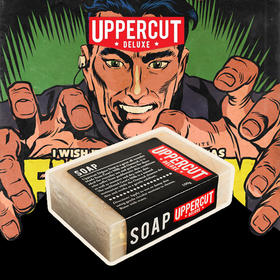 【UPPERCUT拳击手男士洁面皂】 拾起你的油脸给你丢掉的自尊!