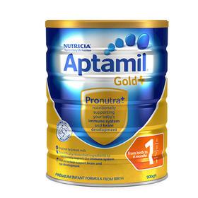 【新西兰直邮】Aptamil 爱他美金装 1段婴儿配方牛奶粉(6罐装)
